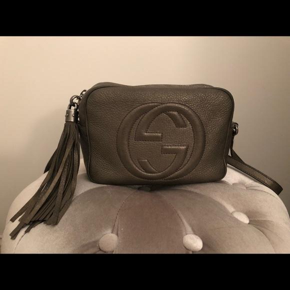 Gucci Handbags - GUCCI Soho small leather disco bag
